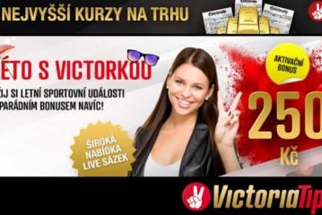 Uvítací bonusy u sázkové kanceláře VictoriaTip