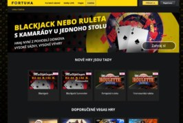 Do Fortuna casino to nemáte daleko